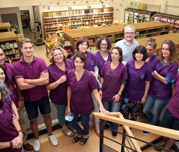 Le magasin bio Grain de soleil bientôt repris par ses salariés